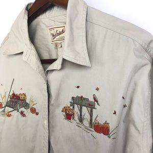 Woolrich Mens Button Down Shirt Size Large